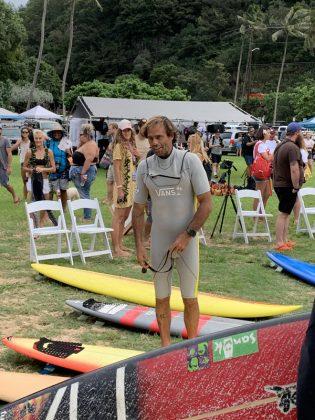 Nathan Fletcher, The Eddie Aikau Invitational 2019, Waimea Bay, North Shore de Oahu, Havaí. Foto: Fernando Iesca.