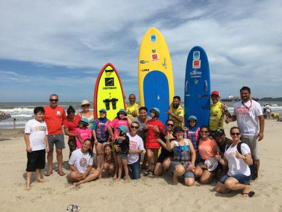 Projeto Surf Sem Limites, Portonave Surf Pro 2019, Navegantes (SC). Foto: Divulgação.