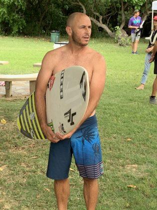 Shane Dorian, The Eddie Aikau Invitational 2019, Waimea Bay, North Shore de Oahu, Havaí. Foto: Fernando Iesca.