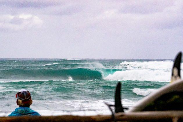 Sunset, Vans World Cup of Surfing, Sunset, North Shore de Oahu, Havaí. Foto: WSL / Keoki.
