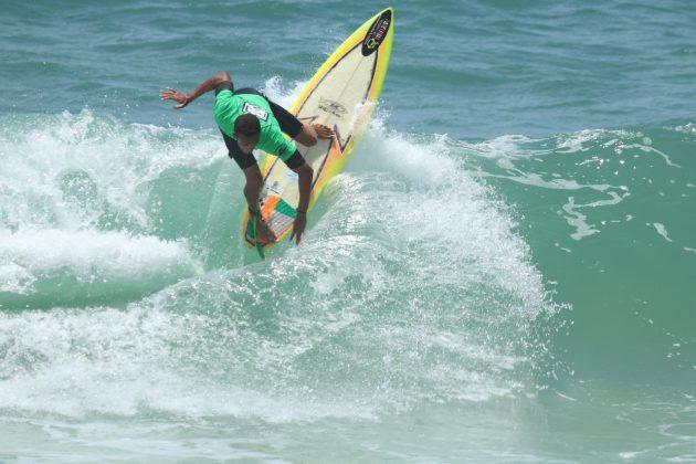 Tiago Oliveira, o vice-campeão Open, Grumari (RJ). Foto: Ivo Jr.