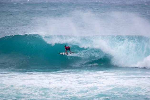 Kolohe Andino, Vans World Cup of Surfing, Sunset, North Shore de Oahu, Havaí. Foto: WSL / Heff.