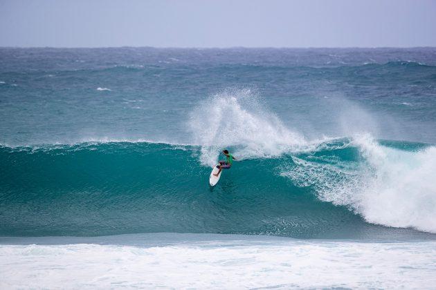 João Chianca, Vans World Cup of Surfing, Sunset, North Shore de Oahu, Havaí. Foto: WSL / Heff.