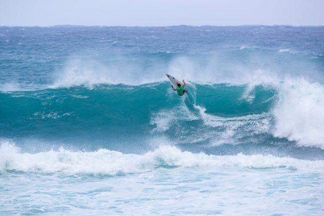 Morgan Cibilic, Vans World Cup of Surfing, Sunset, North Shore de Oahu, Havaí. Foto: WSL / Heff.