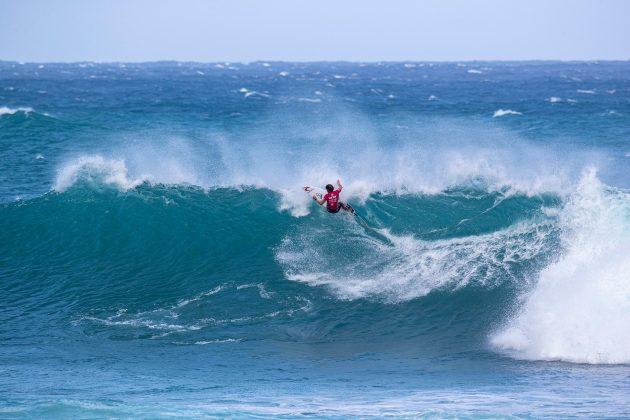 Conner Coffin, Vans World Cup of Surfing, Sunset, North Shore de Oahu, Havaí. Foto: WSL / Heff.
