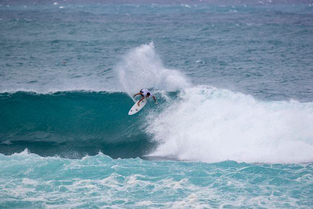 Alonso Correa, Vans World Cup of Surfing, Sunset, North Shore de Oahu, Havaí. Foto: WSL / Heff.