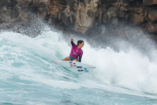 Sally Fitzgibbons, lululemon Maui Pro. Foto: WSL / Cestari.