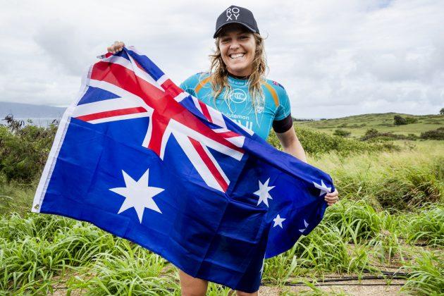 Stephanie Gilmore, Maui Pro 2019, Honolua Bay, Havaí. Foto: WSL / Cestari.