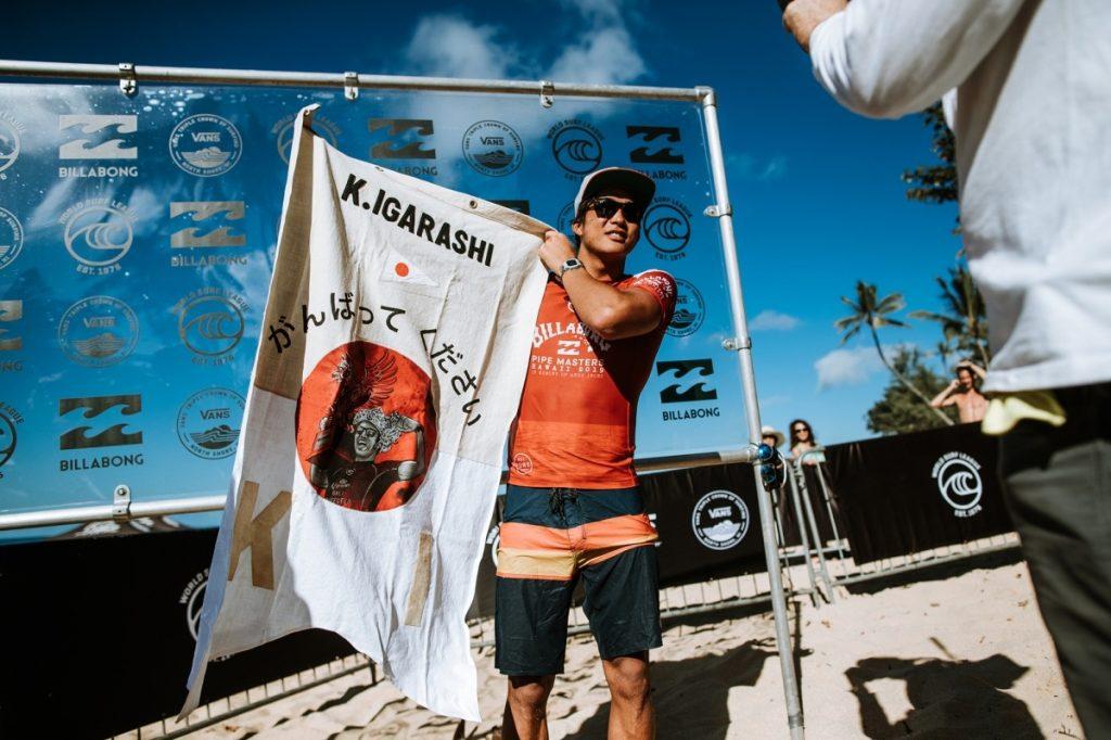 Kanoa Igarashi será um dos representantes do Japão nos Jogos Olímpicos.
