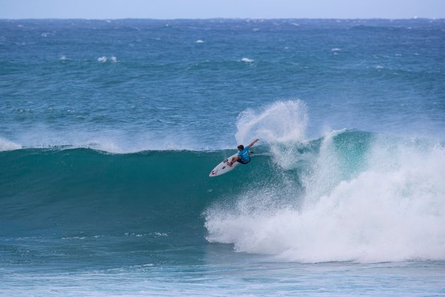 Matthew McGillivray, Vans World Cup of Surfing, Sunset, North Shore de Oahu, Havaí. Foto: WSL / Heff.