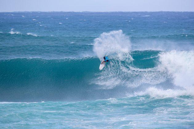 Jesse Mendes, Vans World Cup of Surfing, Sunset, North Shore de Oahu, Havaí. Foto: WSL / Heff.