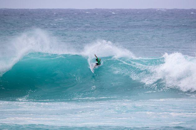 Alejo Muniz, Vans World Cup of Surfing, Sunset, North Shore de Oahu, Havaí. Foto: WSL / Heff.