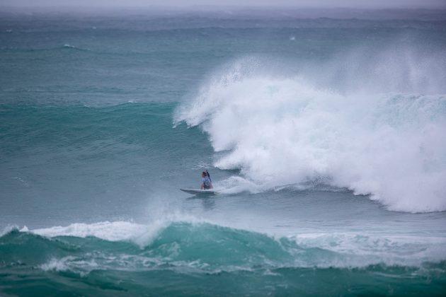 Nolan Rapoza, Vans World Cup of Surfing, Sunset, North Shore de Oahu, Havaí. Foto: WSL / Heff.
