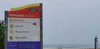Ataque fecha praia