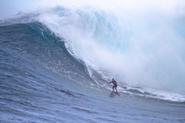 Michaela Fregonese, Jaws, Maui, Havaí. Foto: Aaron Lynton / @aaronlynton.