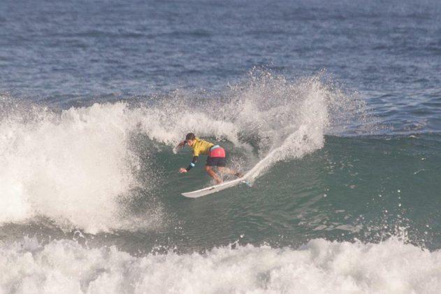 Kayky Araújo, Rip Curl Grom Search 2020, praia da Ferrugem, Garopaba (SC). Foto: Matusa Gonzaga @matusa72.