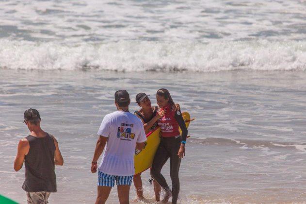 Kemily Sampaio, Rip Curl Grom Search 2020, praia da Ferrugem, Garopaba (SC). Foto: Matusa Gonzaga @matusa72.