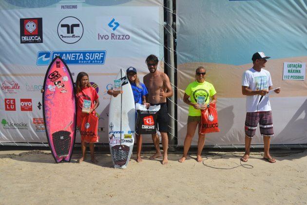 Pódio Feminino, Guarita Eco Festival 2020, Torres (RS). Foto: Torrica Photo Surf Club.