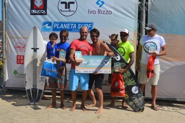 Pódio Master, Guarita Eco Festival 2020, Torres (RS). Foto: Torrica Photo Surf Club.