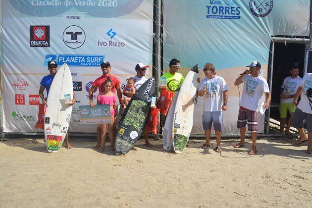 Pódio Open, Guarita Eco Festival 2020, Torres (RS). Foto: Torrica Photo Surf Club.