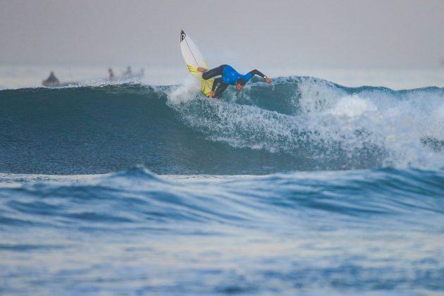 Ramzi Boukhiam (MAR), Pro Taghazout Bay, Marrocos. Foto: WSL / Masurel.