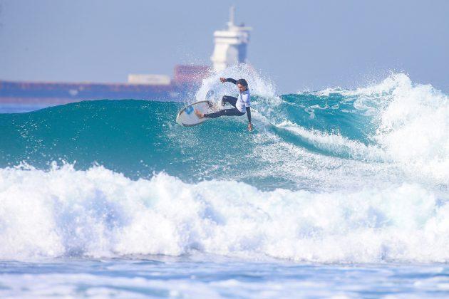 Renan Pulga (BRA), Pro Taghazout Bay, Marrocos. Foto: WSL / Masurel.