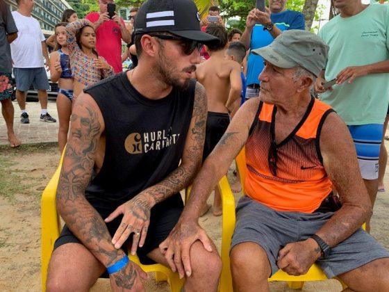 Filipe Toledo e João Maria, Praia Grande, Ubatuba (SP). Foto: Fábio Maradei.
