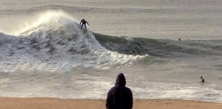 Shorebreak letal