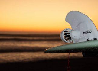 Quilha elétrica Boost Surfing