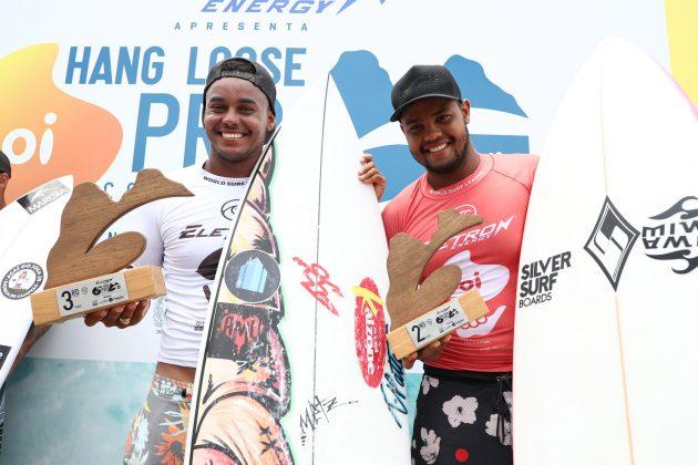 Wiggolly e Weslley Dantas, Oi Hang Loose Pro Contest 2020, Cacimba do Padre, Fernando de Noronha (PE). Foto: WSL / Daniel Smorigo.