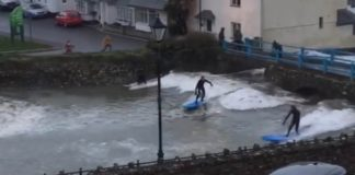 Cornwall rio abaixo