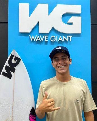 Didi Aguiar, Wave Giant. Foto: Artur Aguiar.