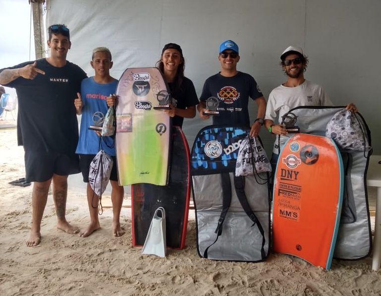 Finalistas da categoria Open do ABBG Bodyboard 2020.