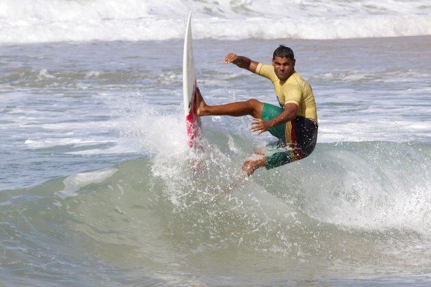 Jhone Fran, Pena Paracuru Pro 2020, Ronco do Mar (CE). Foto: Lima Jr.