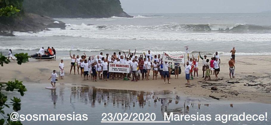 Praia de Maresias, São Sebastião (SP). Foto: Aleko Stergiou.