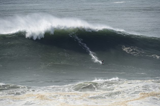 Time Atlântico, Nazaré Tow Challenge 2020, Praia do Norte, Portugal. Foto: WSL / Poullenot.