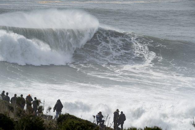 Time Europa, Nazaré Tow Challenge 2020, Praia do Norte, Portugal. Foto: WSL / Poullenot.