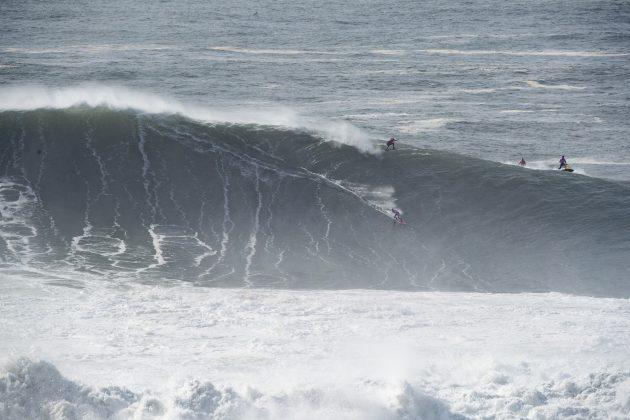 Time Grã-Bretanha, Nazaré Tow Challenge 2020, Praia do Norte, Portugal. Foto: WSL / Poullenot.