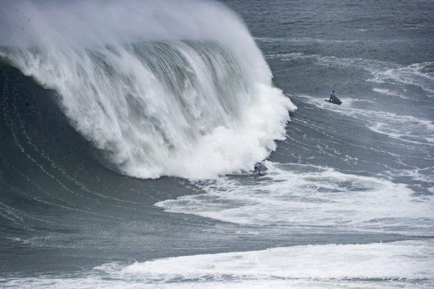 Time Mundo, Nazaré Tow Challenge 2020, Praia do Norte, Portugal. Foto: WSL / Poullenot.