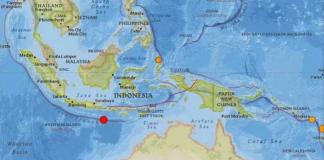 Terremoto sacode Bali