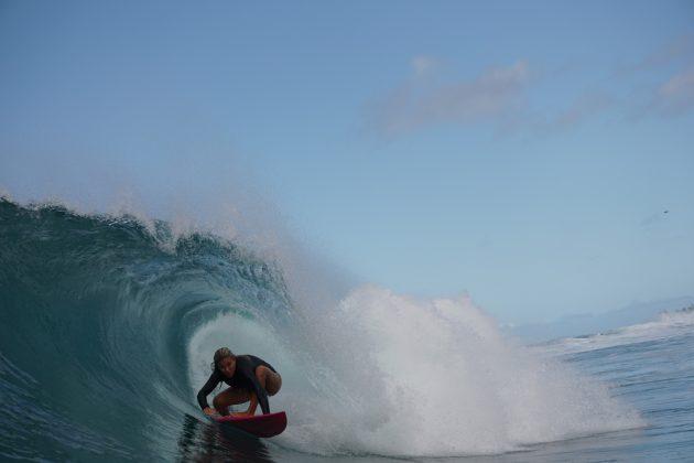 Laura Raupp, North Shore de Oahu, Havaí. Foto: Bruno Lemos.