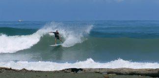 Cabeça em modo surfe