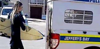 Surfistas no camburão