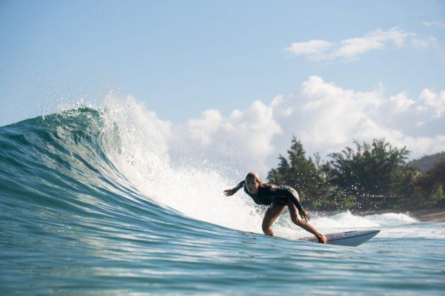 Laura Raupp, North Shore de Oahu, Havaí. Foto: Keale Lemos.