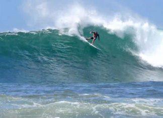 Diego Santos, Haleiwa, North Shore de Oahu, Havaí.