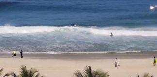 Surfista fura quarentena