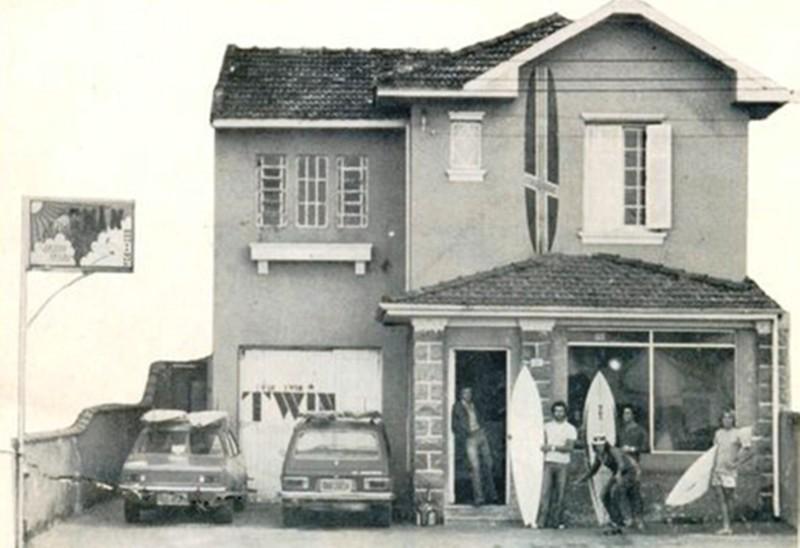 Criada na raça pelos irmãos Argento, Twin foi a primeira surf shop do Brasil.
