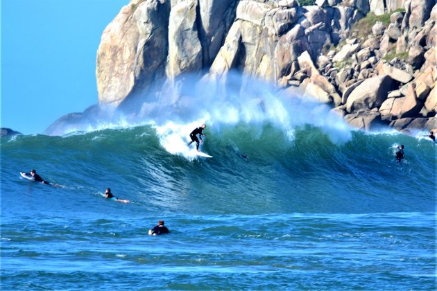 Erivelton, Praia da Vila, Imbituba (SC). Foto: Henrique Buchele.