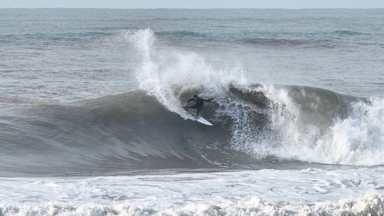 Michael Rodrigues, Píer de Atlântida (RS). Foto: Juninho Castro / @producoes_jc.