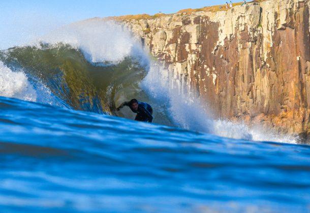 Giovani Banha, Praia da Cal, Torres (RS). Foto: Leandro Fuque.